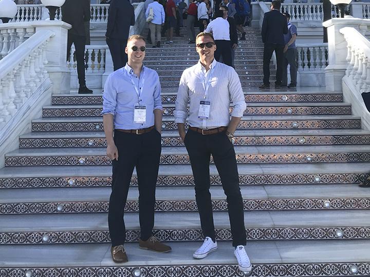 Dagmarin Ilkka Särikiö ja Mikko Koski osallistuivat Malagassa toukokuussa järjestettyyn I-COM Global Summit -seminaariin.