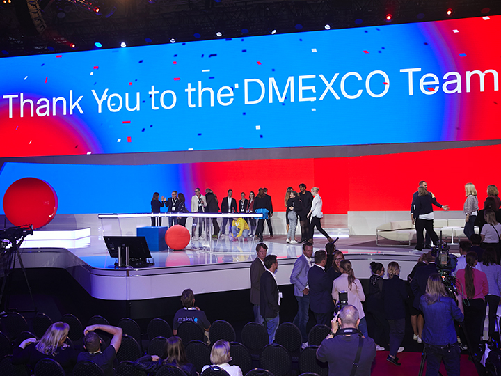 DMEXCO keräsi Saksan Kölniin yli 40000 markkinoinnin, teknologian ja digitaalisuuden asiantuntijaa.
