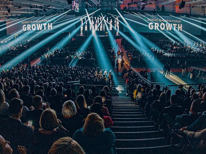 Innovatiivisuus ja disruptointi mainittiin monta kertaa johtajuuteen keskittyvän Nordic Business Forumin puheenvuoroissa.
